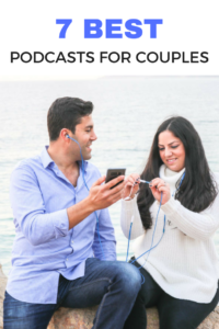 7 Best Podcasts for Couples that Aren't all About Relationships! Recommendations for improving your relationship, improving yourself as individuals, and more fun podcasts to listen together! This is perfect for road trips together, while cooking together, when you don't feel like watching Netflix again. It also helps improve your relationship to learn something new together!