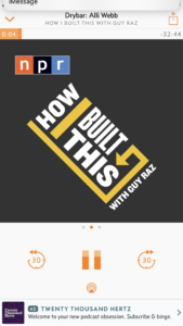 The best podcasts for couples to listen to together. How I Built this is perfect for fans of Shark Tank and The Profit.