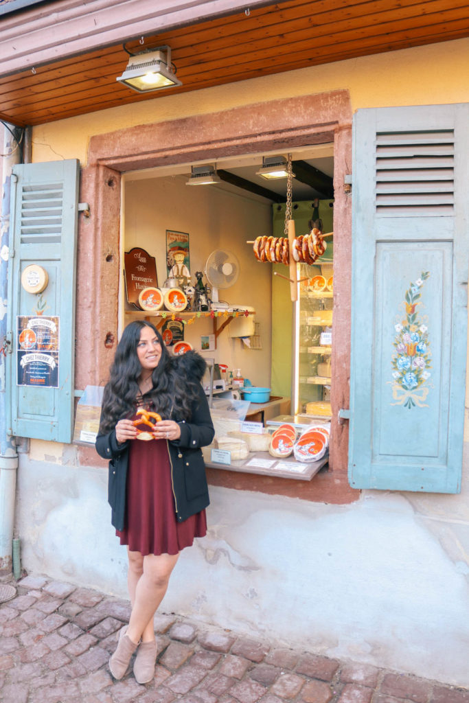 Where to eat in the charming town of Colmar, France.