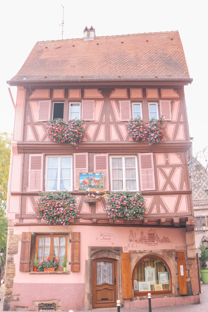 The cutest buildings in all of Europe may be in Colmar, France.