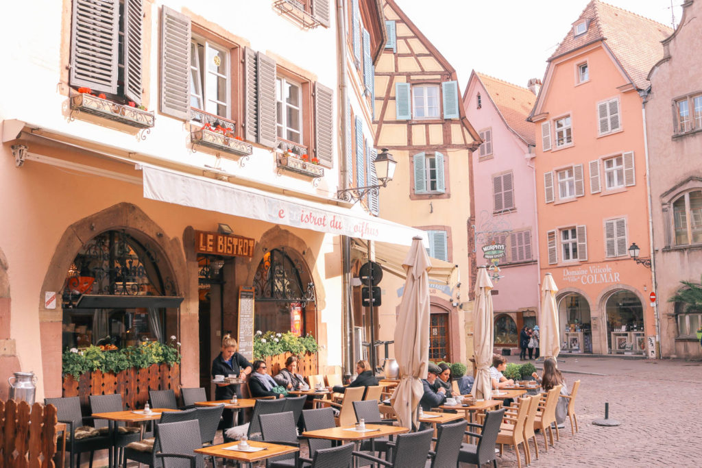 All the best places to eat in the fairy tale town of Colmar, France in the Alsace region