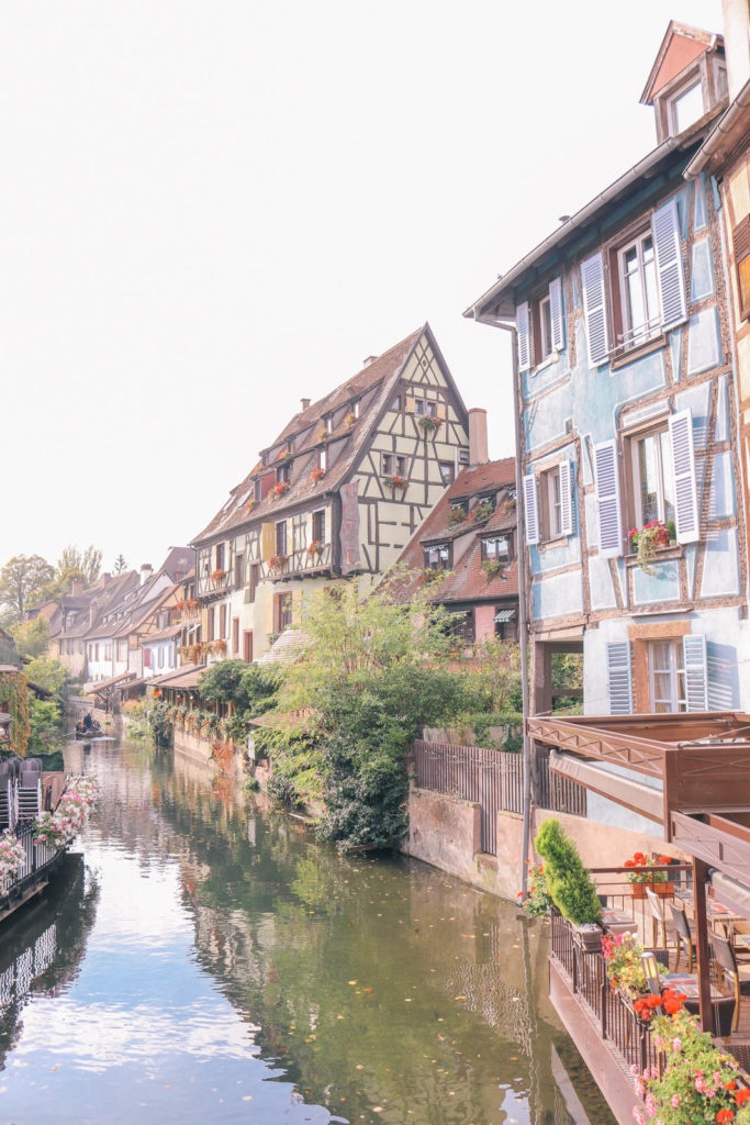 What to do in the pretty town of Colmar, France in the Alsace region. The cutest canals, you'll feel like you're in a fairy tale