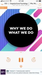 The best podcasts for couples to listen to together. Why We Do What We Do is perfect for those interested in psychology