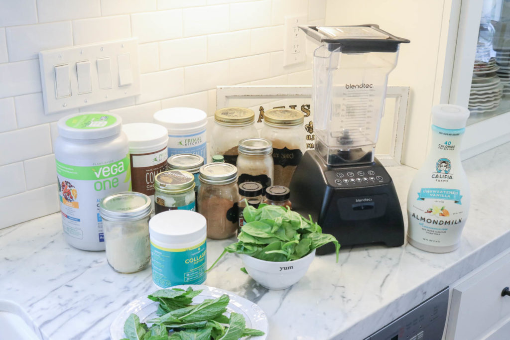 Everything you need to create fruit free smoothies