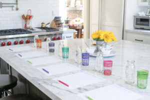 Fruit Free Smoothie Tasting Party to find the best fruit free smoothie recipe