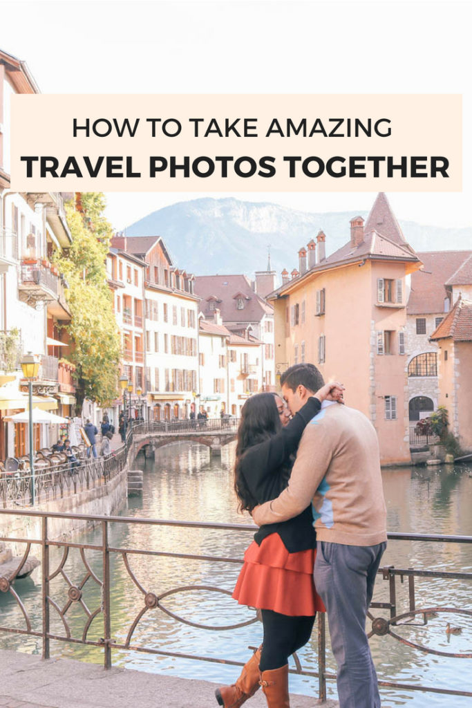 How to take amazing travel photos together as a couple even when traveling alone