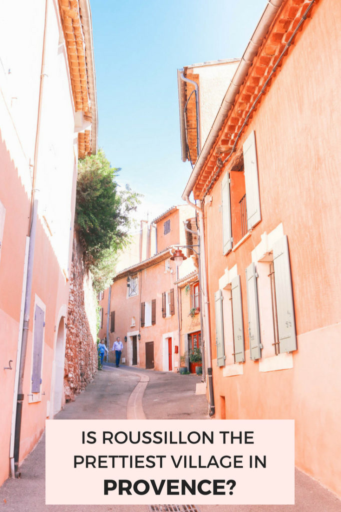 Is Roussillon the prettiest village in Provence, France? Check out these photos to find out!