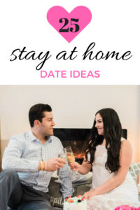 25 stay at home date ideas for when you just want an at home date. Inexpensive, fun, budget friendly, unique, and romantic ideas for at home dates.