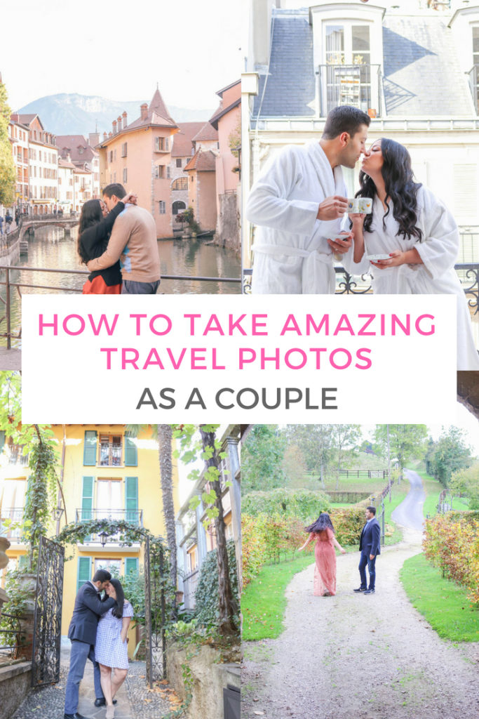 How to take amazing travel photos together as a couple so that you have beautiful travel memories #couplestravel