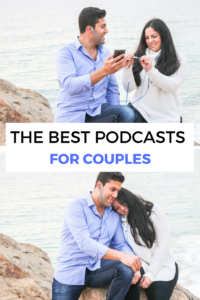 The best podcasts for couples to listen to together for relationship advice, self improvement, and more that both partners will enjoy!