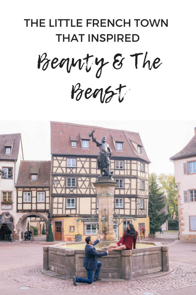 The little French town that inspired Beauty and the Beast: Colmar, France in the Alsace Region