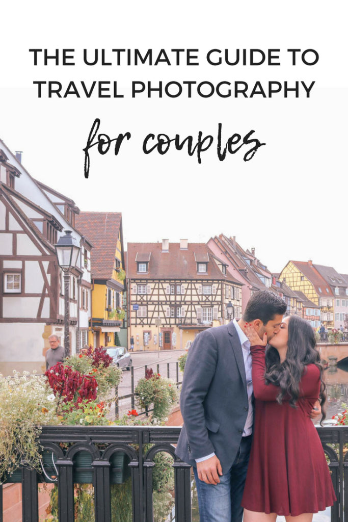 The ultimate guide to travel photography for couples. How to get photos together, pose ideas, and how to get your husband to actually be in photos