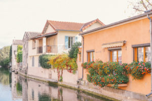 The beautiful town of Isle Sur La Sorgue in Provence