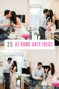 25 At Home Date Ideas that are budget friendly, fun, and unique.