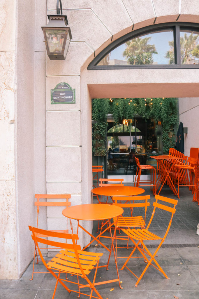 How to spend a French inspired day in Los Angeles, California. The best french places in Los Angeles to pretend you are in Paris
