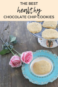 The best healthy chocolate chip cookie recipe. Vegan, dairy free, and paleo. Super light, fluffy, and cake like texture