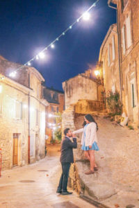 The best villages to visit in Luberon, France when exploring the Provence region. This is Menerbes