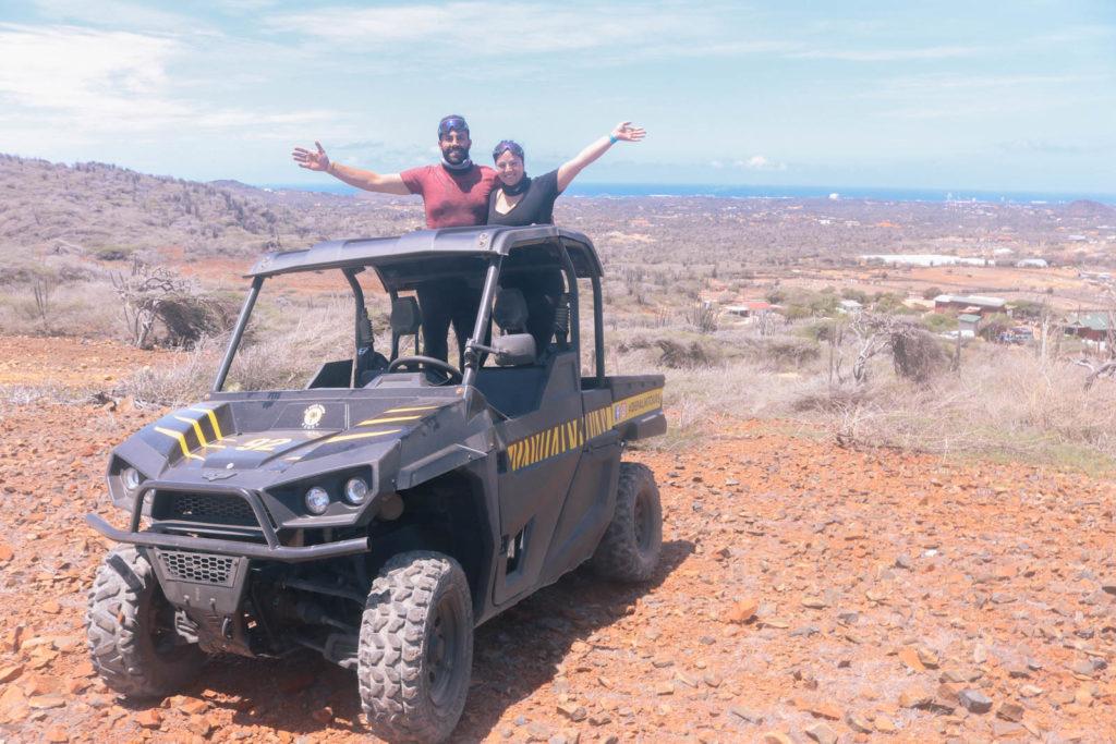 Romantic adventure travel in Aruba