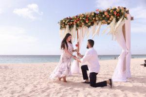 Romantic Aruba: vow renewal