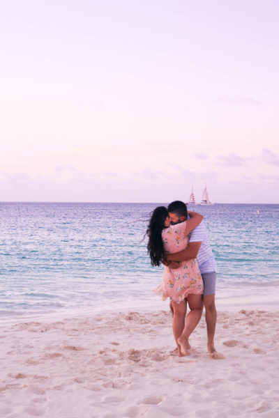 The most romantic beaches in Aruba and in the Caribbean
