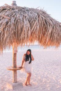 Romantic beaches in Aruba for a romantic getaway or Aruba honeymoon