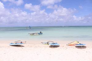 Watersports on Aruba honeymoon