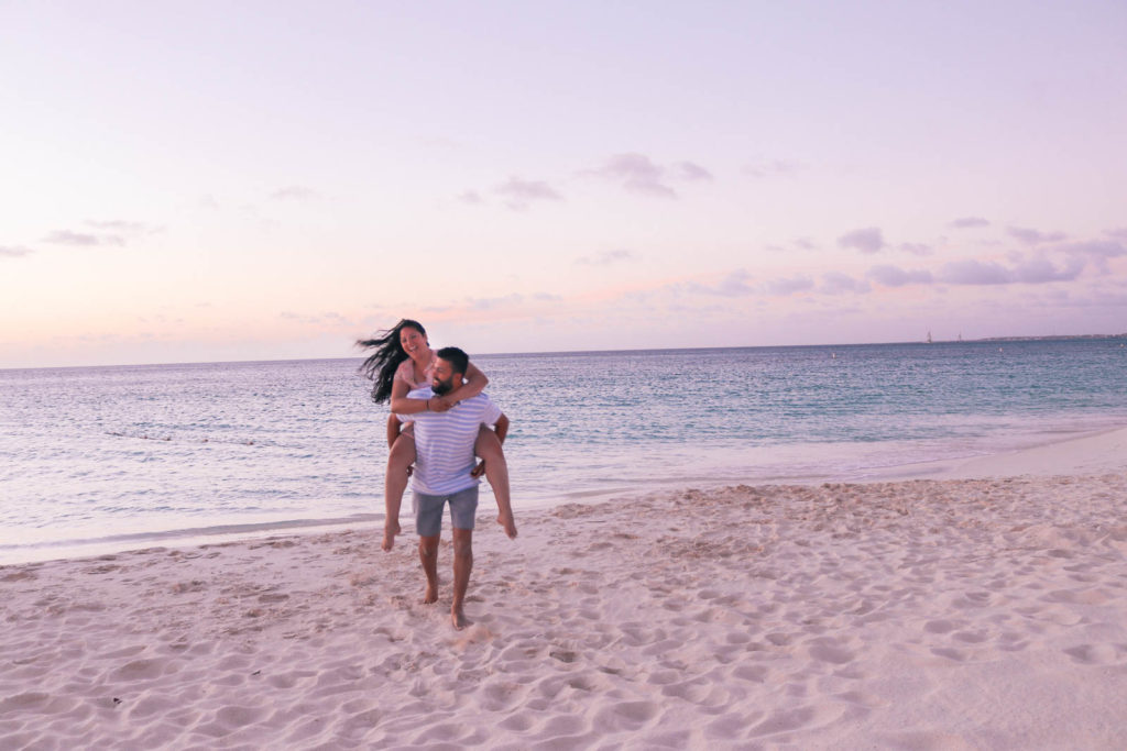 Romantic Aruba Honeymoon