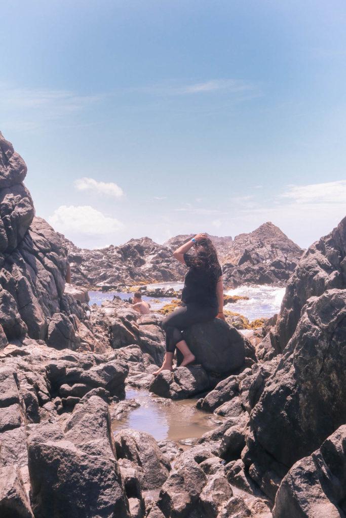 natural pools in Aruba, perfect for romantic adventure travel