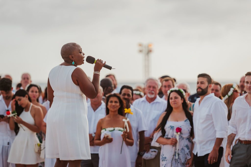 Aruba vow renewal