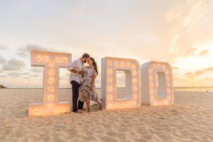 Aruba Vow Renewal on the Beach