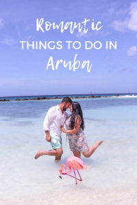 Romantic things to do in Aruba for a honeymoon or couples trip to Aruba