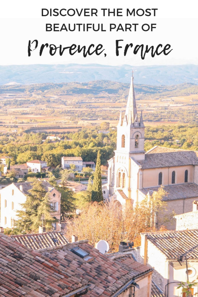 Discover the most beautiful part of Provence, France: The Luberon Valley! You'll be surprised how many beautiful villages there are in this part of Provence, as well as endless countryside and lavender fields