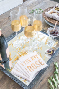 How to host a French inspired dinner party, start with an apertif