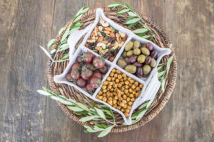 How to host a French inspired dinner party, start with an apertif and pre dinner nibbles and small bites