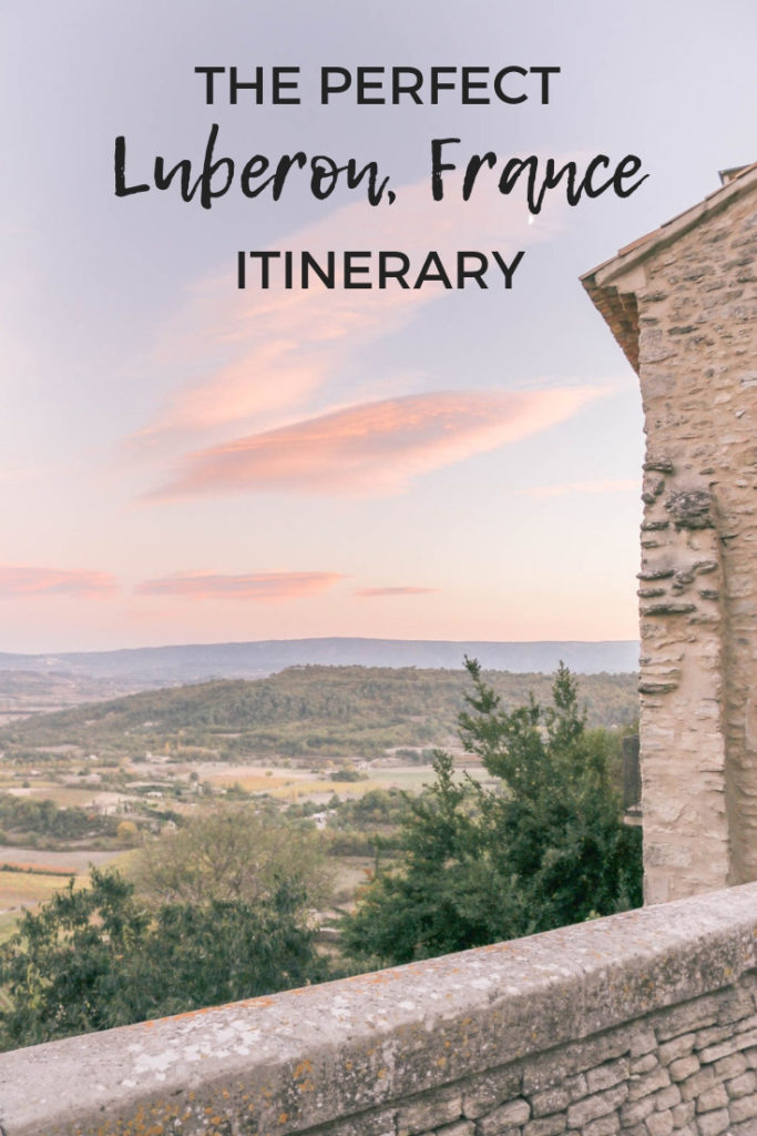 The perfect Luberon Valley, Provence, France itinerary. Your guide to the best villages