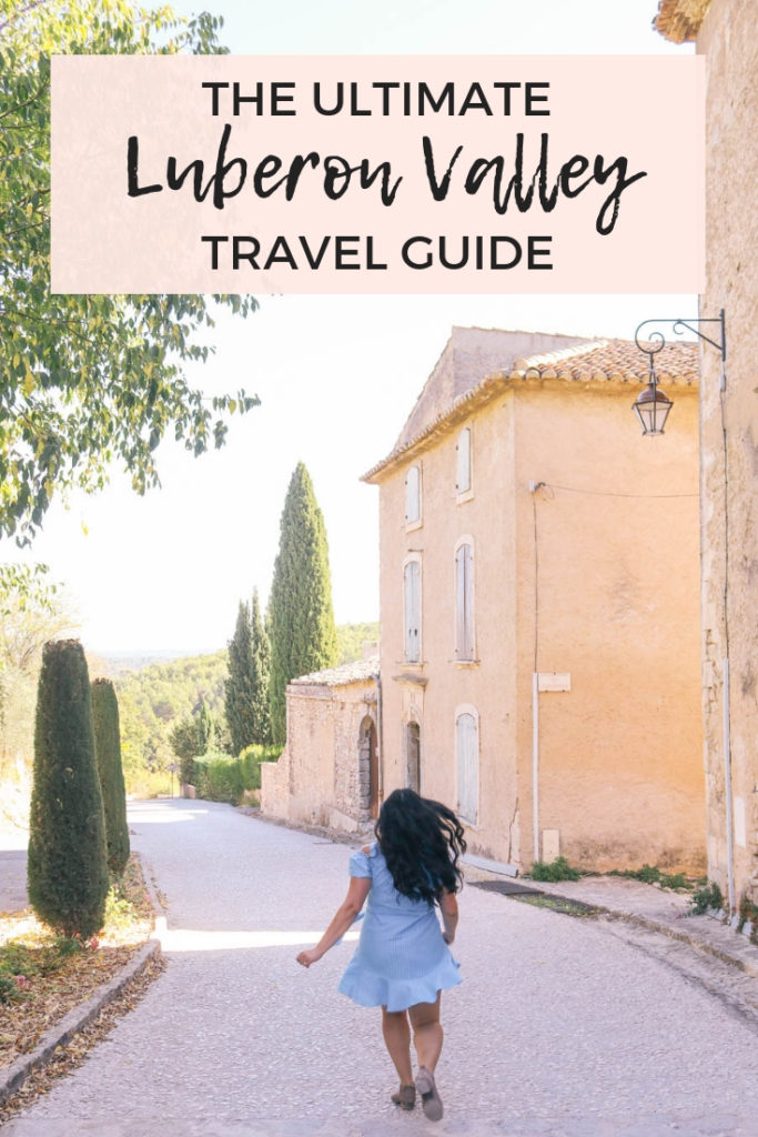 The ultimate Luberon Valley, Provence, France travel guide. Where to stay, eat, and things to the in the Luberon Valley including Gordes, Roussillon, and Lacoste