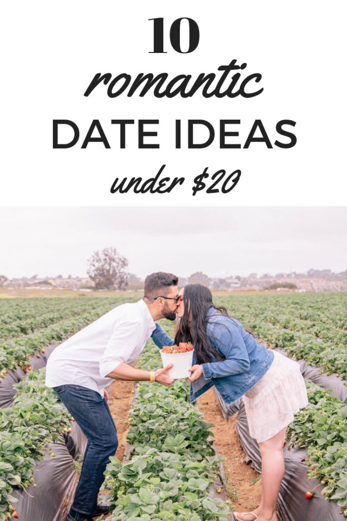 Romantic date ideas under $20, budget friendly date ideas #dateideas #romance #budgetdating