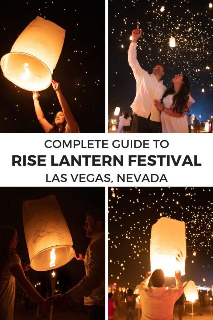 Everything you need to know for the RiSE Lantern Festival in Las Vegas, Nevada in the Mojave Desert