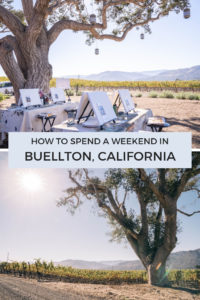 How to spend a weekend in Buellton, California the perfect itinerary for this wine country town in Santa Barbara County. The perfect stop on your next California Coastline road trip