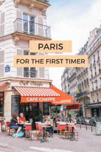 The first timer's guide to Paris, France. Everything you need to know for the best first time trip to Paris. #Paris