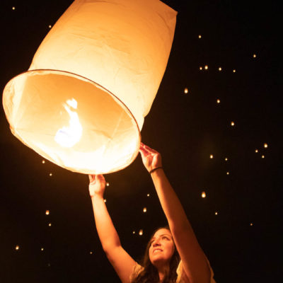 Letting Go at the RiSE Lantern Festival Las Vegas
