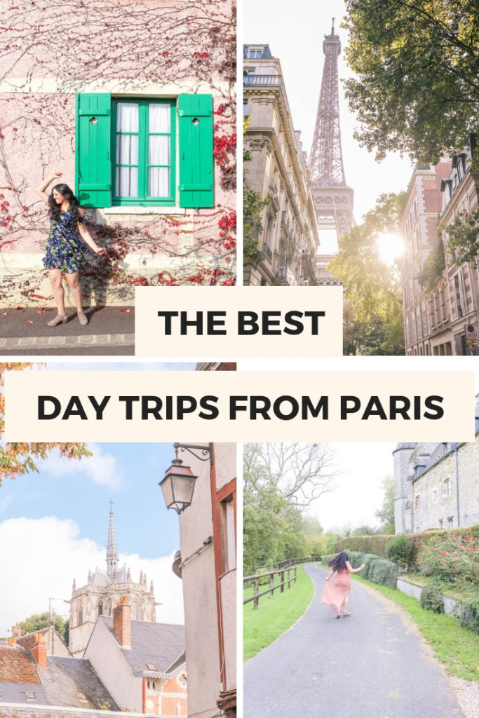 The best day trips from Paris, France. Quick and easy one day trips or weekend getaways from Paris