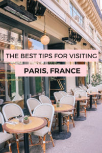 The best tips for visiting Paris, France. How to have the best Paris trip. Where to stay, what to do, how to get around, all the Paris secrets. #Paris