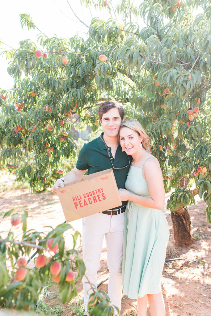 peach picking, romantic date idea