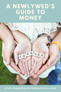 A newlywed's guide to money management. All the tips for budgeting as a couple for financial freedom and to reduce money and finance stress and arguments
