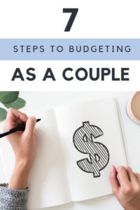 7 Steps to Budgeting as a Couple. An easy and stress free guide to money management for couples