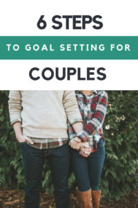 Goal setting and new year planning for couples with free printables to plan your perfect year together. This is a great way to improve communication in a marriage and get on the same page with expectations