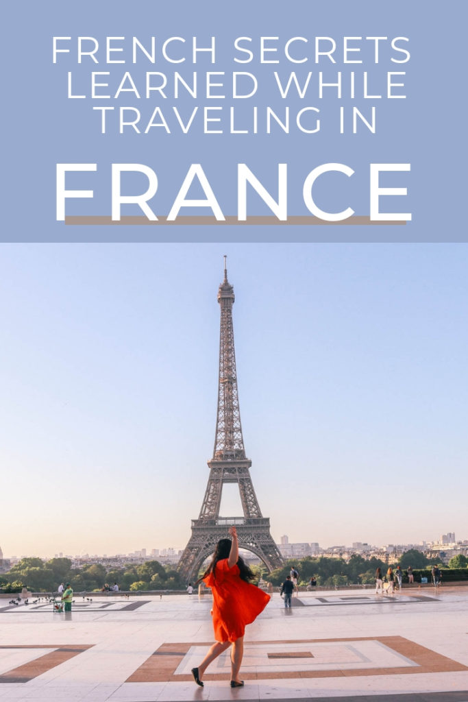French living secrets for a happier life. You'll love these French lifestyle tips
