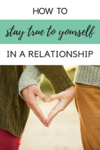 How to stay true to yourself in a relationship and maintain your own sense of identify. These are the relationship truths and tips you need to hear for a healthy relationship