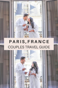 Couples travel guide to Paris, France. A romantic itinerary for a Paris honeymoon or anniversary trip. Where to stay, things to do, what to pack for a romantic Paris trip